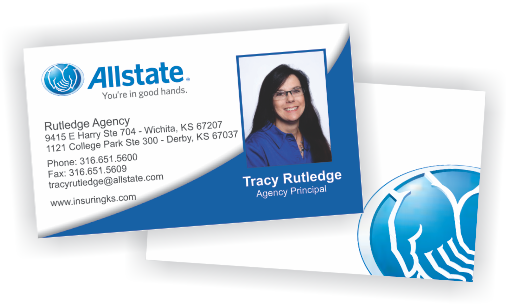 Allstate insurance business cards ordering templates custom allstate insurance business cards colourmoves