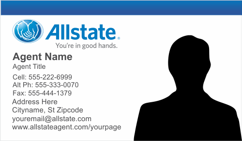 Order Allstate Insurance Business Card Templates